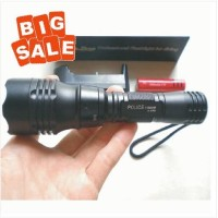 READY! Senter LED Selam Diving Penerangan Waterproof Baterai 18650
