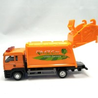 Truck Diecast RMZ Man Garbage Truck Sampah kuning