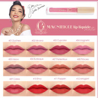MADAME GIE MAGNIFIQUE LIP LIQUIDE MATTE BPOM by GISELLE ANASTASIA lip