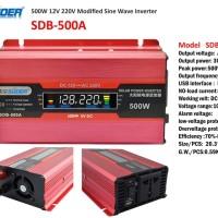 Power Inverter 500W 500 watt SUOER SDB-500A SDB500A SDB 500A