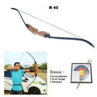 Wooden Recurve Bow/Panah