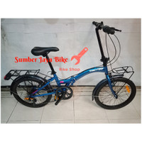 Sepeda LIPAT 20 inch United Stylo design TOURING NEW!!!