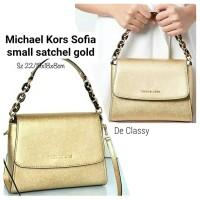 b7f3b8c85621f4 Tas Michael Kors MK Sofia small ew satchel sz 19/22x18x8cm (6 warna)