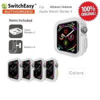 SwitchEasy Color Matching Case Apple Watch 4 40mm Original - White