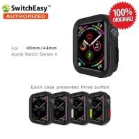 SwitchEasy Color Matching Case Apple Watch 4 40mm Original - Black