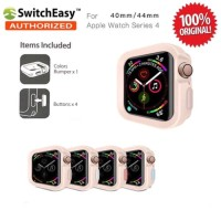 SwitchEasy Color Matching Case Apple Watch 4 40mm Original - Pink