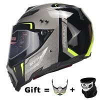 26605908e09 BYE New Motorcycle Helmet Men Full Face Helmet Moto Riding ABS