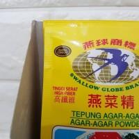 Agar agar swallow globe