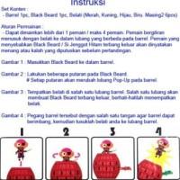 Mainan Edukasi Anak Peppa Pig Barrel / Pirates
