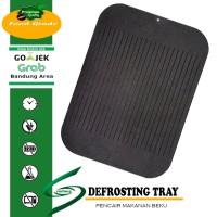 Defrosting Tray Miracle Plate / Talenan Plat Pencair Daging Ikan beku