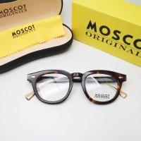 kacamata frame pria moscot TT size 49-24-148 paket lensa crmc radiasi