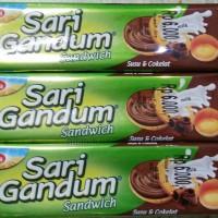 Roma Sari Gandum Sandwich Coklat dan Peanut Butter