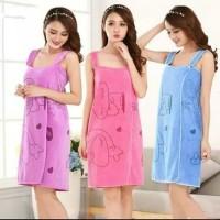 Handuk Multifungsi Wearable Towel - Handuk Baju