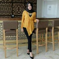 zola top/chika top pakaian atasan baju wanita tunik dress Zahra Stores