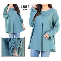 blouse jumbo kancing 3 Zahra Stores