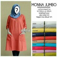 Tunik Jumbo Monna pakaian wanita muslimah Zahra Stores