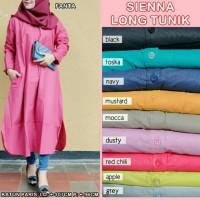 Sienna Long Tunik pakaian wanita muslimah Zahra Store