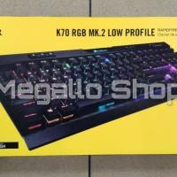 Corsair K70 RGB MK.2 Low Profile Gaming Keyboard Garansi Resmi 2 Tahun