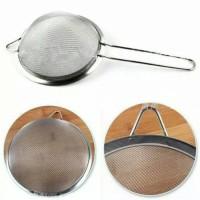 Tea Strainer / Penyaring / saringan teh / Stainless 12 cm