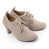 Sepatu Wedges Wanita LRM 269 Cream
