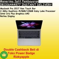 """Macbook Pro 13"""" Grey 2017 Retina MPXQ2 Core i5 RAM 8GB SSD 128GB BNIB"""