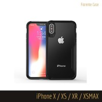Tempered Glass Case iPhone XSMAX XR XS X MAX 10 Casing Acrylic Hard