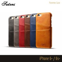 Premium Leather / Kulit Case Card Slots iPhone 6 / 6s / 6+ / 7 / 7+