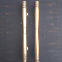 Handle Pintu Murah / Handle Pintu Kuningan Motif Polos ukir 60 cm 1pcs