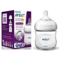 Avent Natural Botol Susu Bayi 1 x 125ml Single Pack Ukuran 125 ml