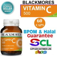 Blackmores BIO C Vitamin C Cold Relief 500 mg 60 tablets BPOM Kalbe
