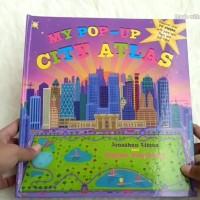 Harga my pop up city atlas pop up book buku anak   Pembandingharga.com