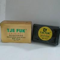 Tje Fuk Original Brightening Transparent Soap Black