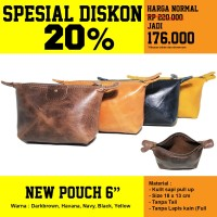 PROMO New Pouch 6 in - Kenes Leather