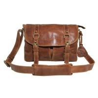 Tas Kulit Selempang JRDN Havana - Kenes Leather