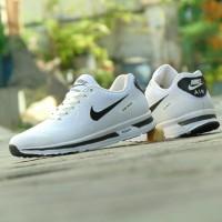 Harga sepatu nike airmax zoom grade ori full white putih sport casual   Pembandingharga.com