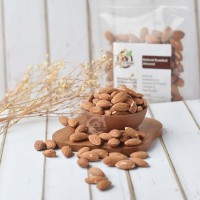 Natural Roasted Almond (Panggang) 250 Gr