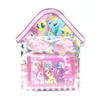 Aksesoris Anak Perempuan Dompet Kacamata My Little Pony A