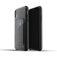 MUJJO Leather Wallet Case for iPhone XR Original - Black
