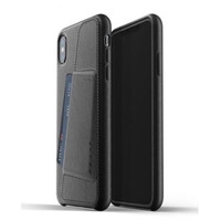 MUJJO Leather Wallet Case for iPhone XS Max Original - Black