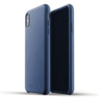 MUJJO Leather Case for iPhone XS Max Original - Blue