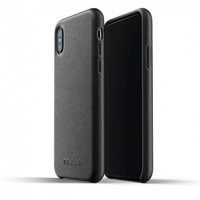 MUJJO Leather Case for iPhone XS/X Original - Black