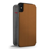 Twelve South Case SurfacePad for iPhone XS Max Original - Cognac Brown