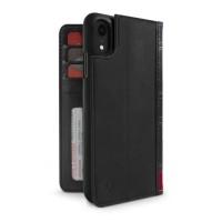Twelve South Case BookBook 3-in-1 Leather Wallet for iPhone XR - Black