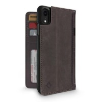 Twelve South Case BookBook 3-in-1 Leather Wallet for iPhone XR - Brown