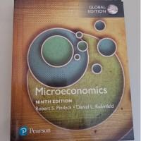 Microeconomics, Global Edition, 9th Edition (Hardcover/ Buku Ekonomi)