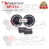 Tweeter NAKAMICHI SPT13 Silk Dome Car Tweeter Audio Mobil Speaker SP