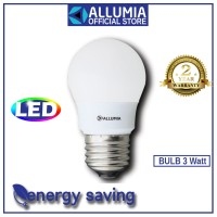 Allumia Bulb Led 3watt E27 6500k Putih