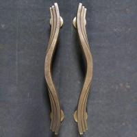 Handle Pintu Kuningan / Brass Door Pull - Kipas 02