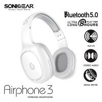 SONICGEAR AIRPHONE 3- Wireless Headset with Strong Bass & Clear Audio
