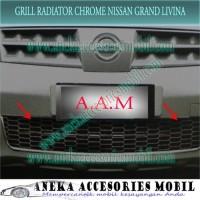 Grill Bumper Radiator Chrome Nissan Grand Livina